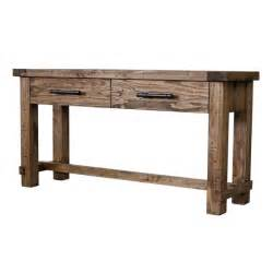 country sofa tables country weathered pine sofa table 16418891 overstock