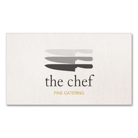 Chef Card Template by 1000 Images About Chef Business Cards On