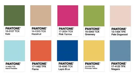 hot colors for spring 2017 how do they choose those pantone colours it s a long