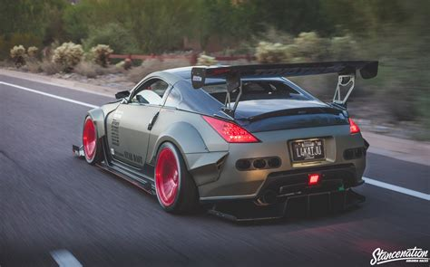 nissan 350z modified nissan 350z bodykit modified cars coupe wallpaper