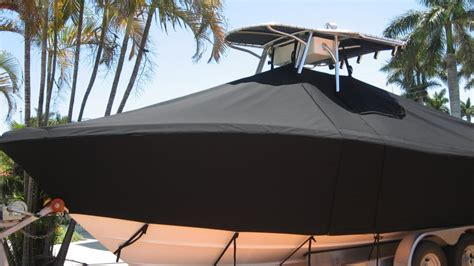 canvas boat cover treatment marine canvas boat upholstery for yachts ft lauderdale