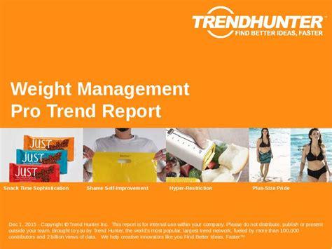 weight management trends custom weight management trend report custom weight
