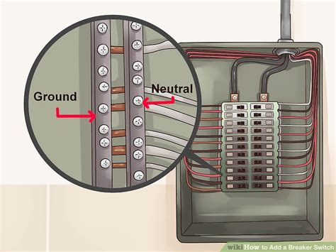 how to add a breaker switch with pictures wikihow