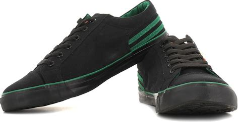 sparx canvas shoes sneakers buy black green color