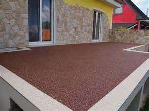 terrassen bodenbelag steinteppich bodenbelag ideal f 252 r die