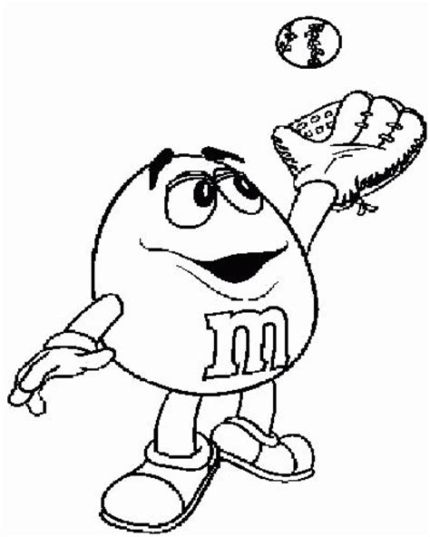 17 Best Images About M M On Pinterest M M Costume Mars Mm Coloring Pages