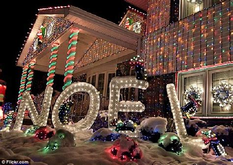houston heights lights the house with one million lights daily mail