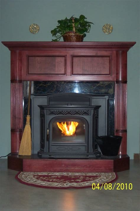 showroom hearth with harman accentra pellet stove insert