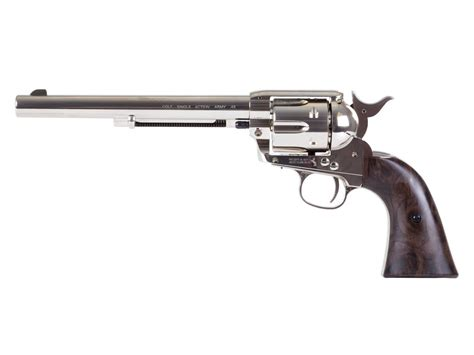 peace maker colt saa peacemaker 7 5 co2 pellet revolver nickel 0 177