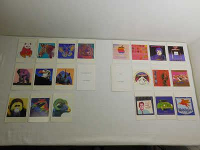 libro andy warhol postcard set valuable rare postcards
