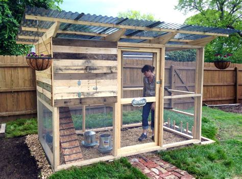 garden coop from diy chicken coop plans chickens