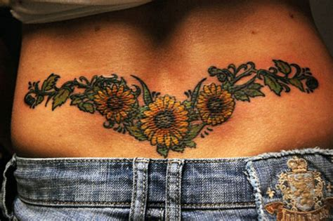 tribal sunflower tattoo design 85 pretty sunflower tattoos designs for back