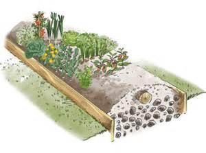 jardin potager en butte avantages et exemple