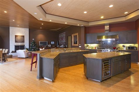 gourmet kitchen island malibu homes malibu properties not just a home it s a way of