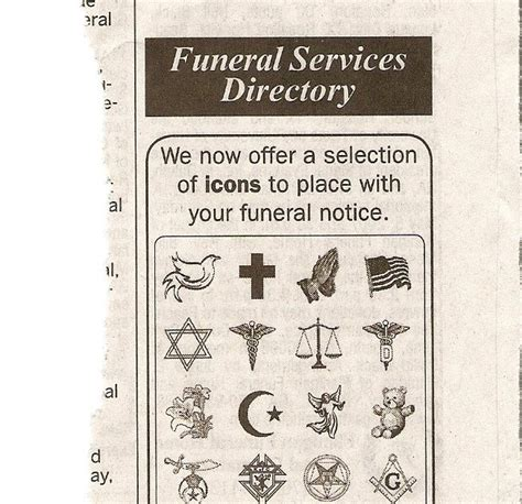 atlanta journal constitution obituary section the burning taper newspaper offers masonic symbols on