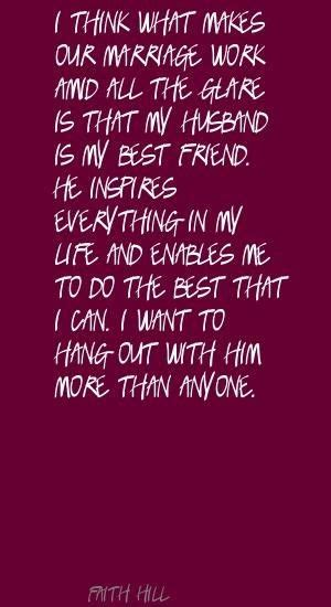 Husband As Best Friend Quotes