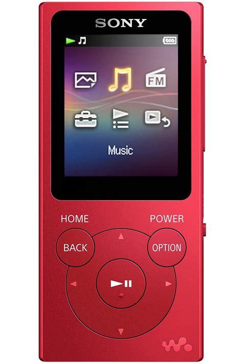 Sony 16GB Red Walkman MP3 Player   NWZ E395/R