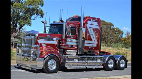 kenworth australia kenworth t904 908 909 trucks in australia youtube