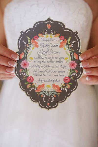 10 new ideas for your wedding invitations bridalguide