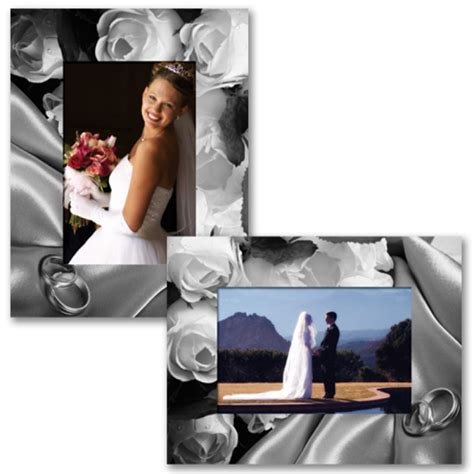 Wedding Album Easel paper frames paper wedding frames celebration event easels