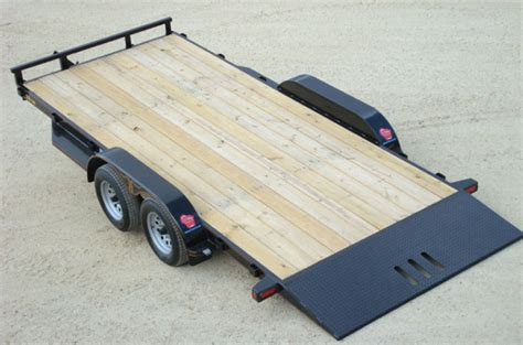 tilt bed car trailer 3 5 ton car hauler tilt bed trailer johnson trailer co
