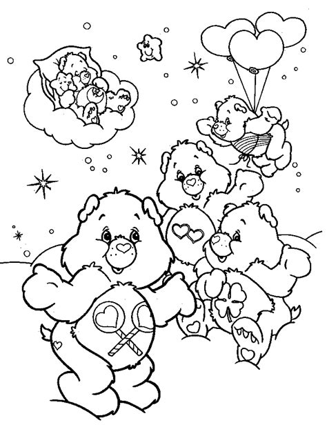 care bear coloring pages pdf care bears 999 coloring pages az coloring pages