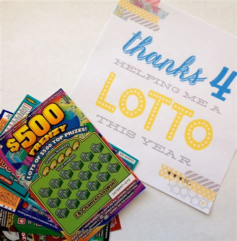 printable lotto tickets thanks 4 teaching me a lotto everyday party magazine