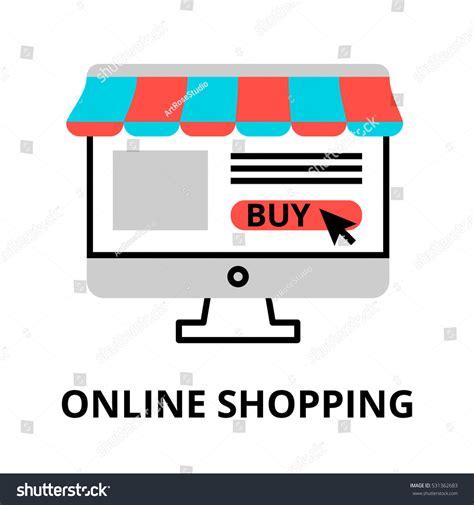 design online marketplace modern flat editable line design vector stock vector