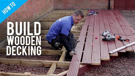 how to build lay timber decking