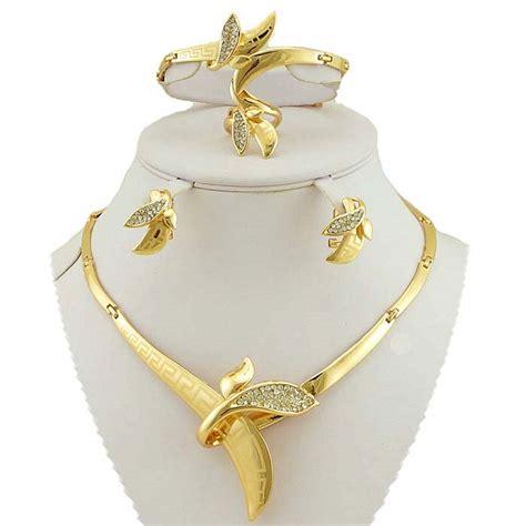 aliexpress buy gold fashion jewelry sets