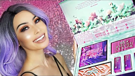 tutorial uw 122 urban decay x kristen leanne full collection review demo