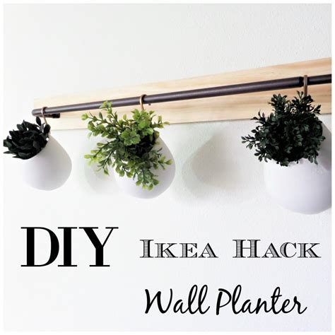 wall planters ikea diy ikea hack wall planter be my guest with denise