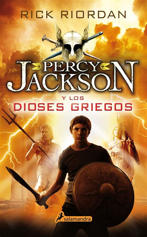 libro dioses que fallan las percy jackson y los dioses griegos ediciones salamandra