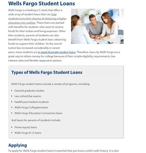 fargo student loans