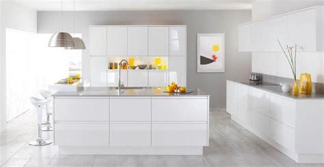 cuisine laquee la cuisine blanche le des cuisines