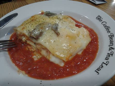 my for food the coffee bean and tea leaf lasagna