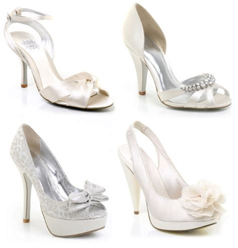Wedding Shoes Ivory Dress by Think When Selecting The Wedding Shoes