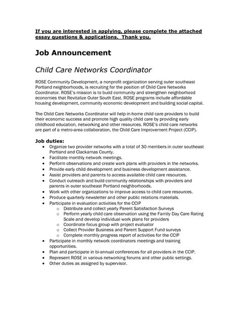 Child Care Attendant Cover Letter by Collection Of Solutions Irsonline Resume Format Doc With Additional Day Care Aide Cover