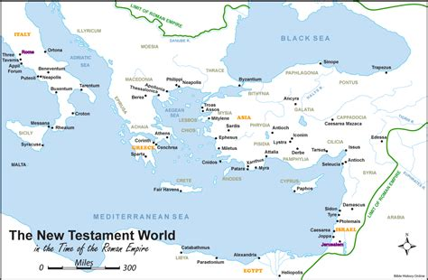 map of new testament jerusalem the new testament world bible history