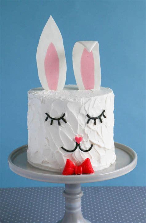 how to make a bunny cake how to make a bunny cake