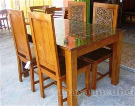 Meja Makan Kayu Jati Jepara meja makan balero kayu jati jepara model terbaru meja