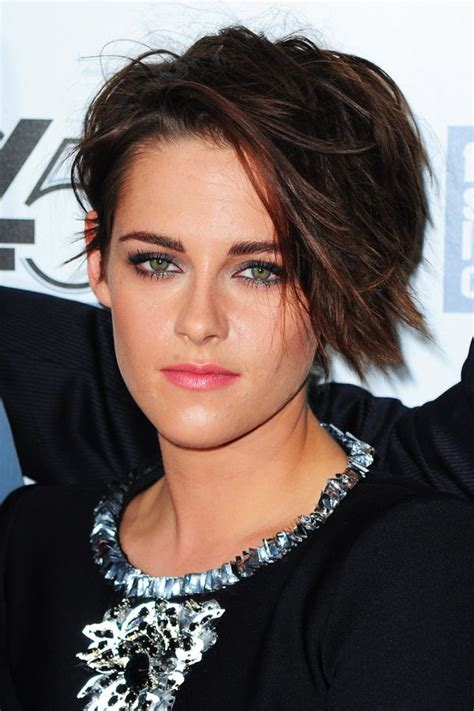 ways to style asymmetrical hair 330 best hot people y know images on pinterest kristen