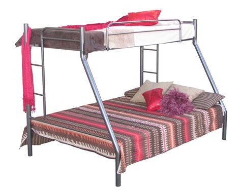 Tri Bunk Bed My Space Piper Metal Tri Bunk Bed Beds