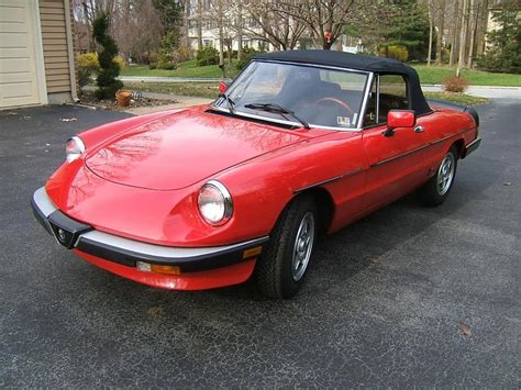 1983 Alfa Romeo Spider 1983 alfa romeo spider information and photos momentcar
