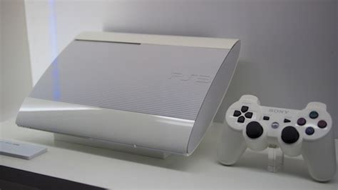 Ps3 Superslim White tgs a better look at the slimmer ps3 and vita new colors