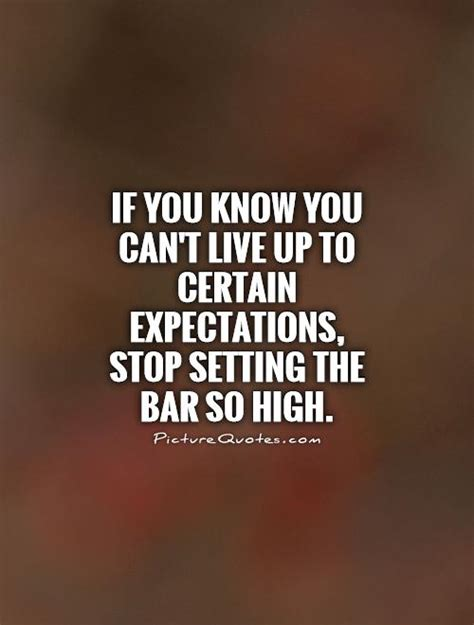 expectation quotes setting expectations quotes quotesgram