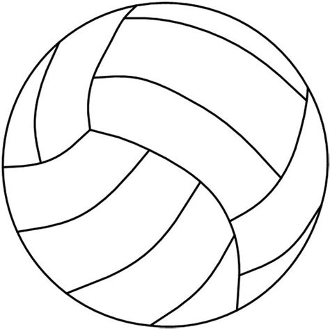 free printable volleyball pictures 8 best images of volleyball templates printable