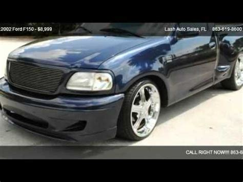 all car manuals free 1994 ford lightning electronic throttle control 2002 ford f150 for sale in lakeland fl 33813 youtube