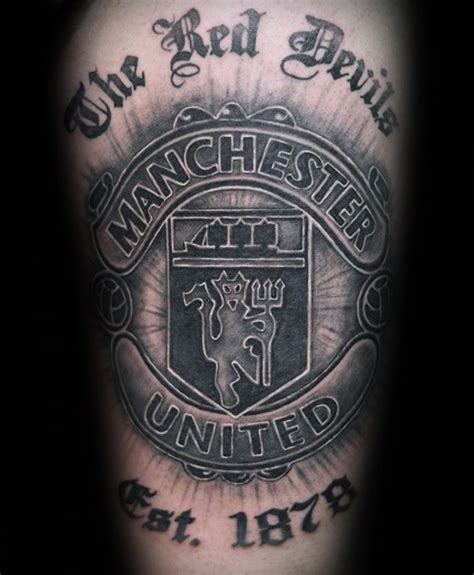 man united tattoo designs 40 manchester united designs for soccer ideas
