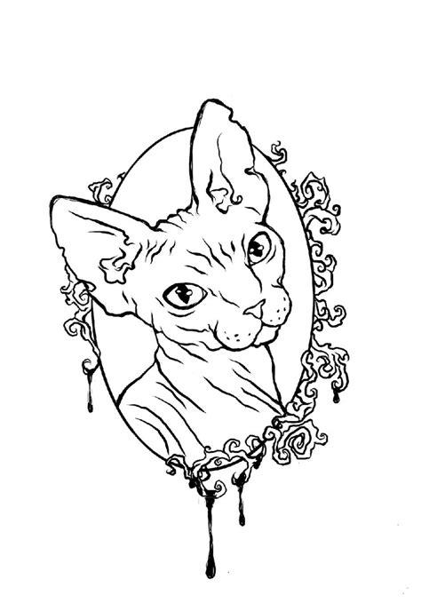 tattoo cat drawing tattoo cat by morfina92 on deviantart